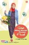 Gaya Jilbab Remaja Nuansa Floral + Tutorial Kerudung