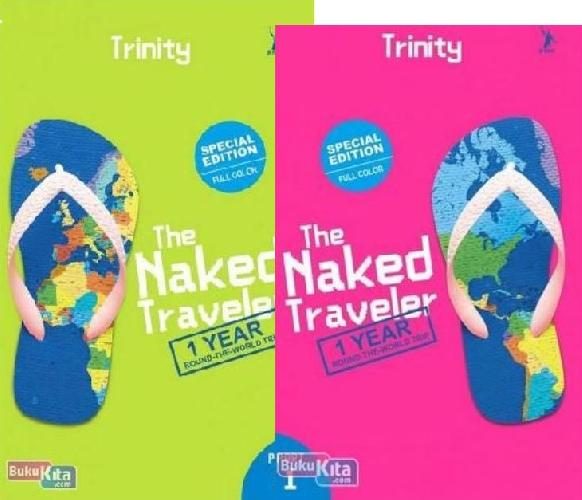 Cover Buku Paket The Naked Traveler 1 Year Round The World Trip 1-2