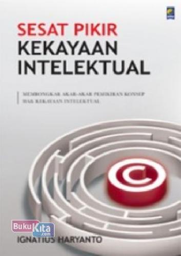 Cover Buku Sesat Pikir Kekayaan Intelektual
