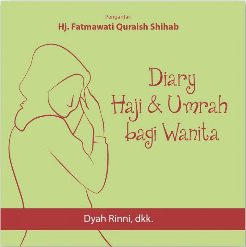 Cover Buku Diary Haji & Umrah bagi Wanita