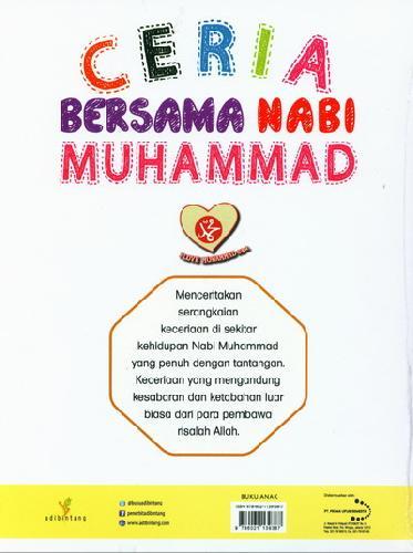 Cover Belakang Buku Ceria Bersama Nabi Muhammad