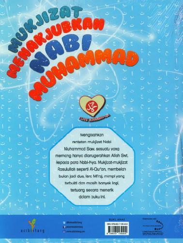 Cover Belakang Buku Mukjizat Menakjubkan Nabi Muhammad
