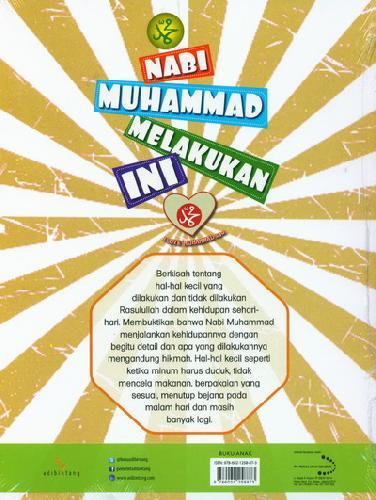 Cover Belakang Buku Nabi Muhammad Melakukan Ini