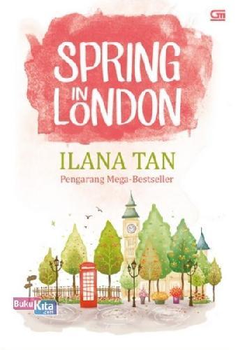 Cover Buku Metropop: Spring In London (Cover Baru)