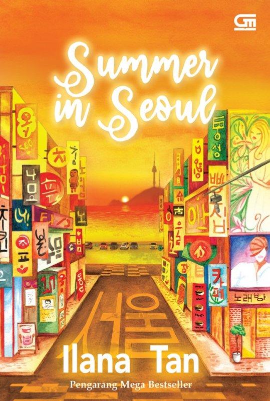 Cover Buku Metropop: Summer In Seoul (Cover Baru)