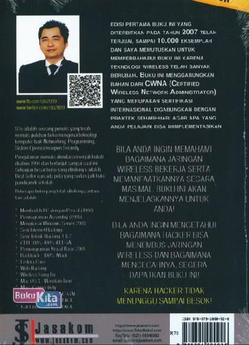 Cover Belakang Buku Wireless Kung Fu : Networking&Hacking Edisi 2015