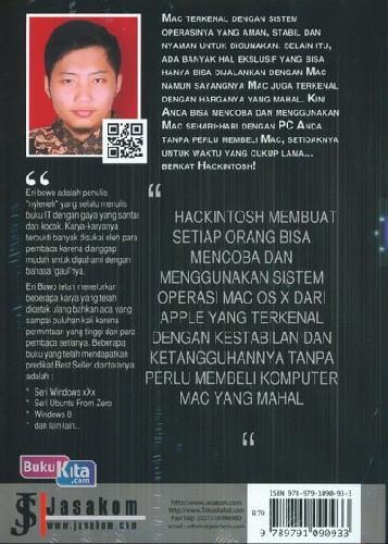Cover Belakang Buku Hackintosh: Jalankan Mac Os X Dengan Pc Anda