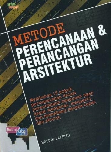 Cover Buku Metode Perencanaan & Perancangan Arsitektur