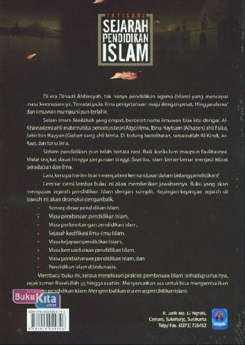 Cover Belakang Buku Intisari Sejarah Pendidikan Islam