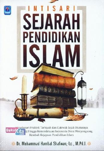 Cover Buku Intisari Sejarah Pendidikan Islam