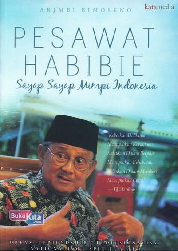 Cover Buku Pesawat Habibie: Sayap2 Mimpi Indonesia