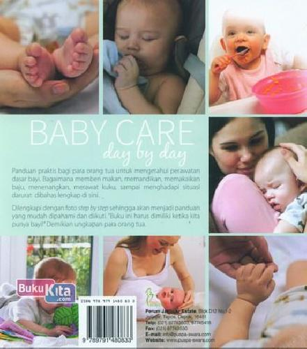 Cover Belakang Buku Baby Care Day By Day