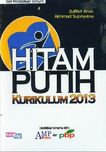 Cover Buku Hitam Putih Kurikulum 2013