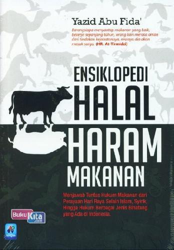 Cover Buku Ensiklopedi Halal Haram Makanan