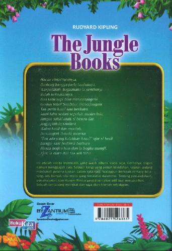 Cover Belakang Buku The Jungle Books