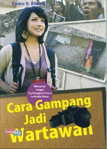 Cover Buku Cara Gampang Jadi Wartawan