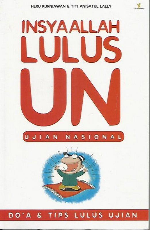 Cover Buku Insyaallah Lulus UN