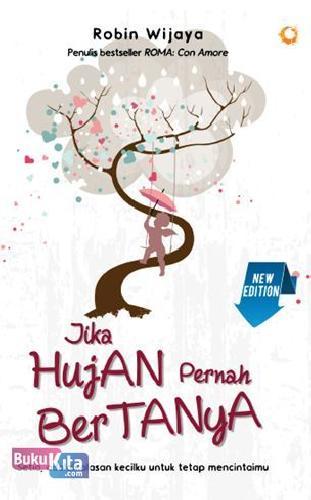 Cover Buku Jika Hujan Pernah Bertanya New Edition