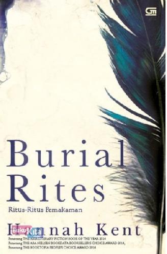 Cover Buku Ritus-Ritus Pemakaman (Burial Rites)