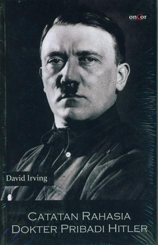 Cover Buku Catatan Rahasia Dokter Pribadi Hitler