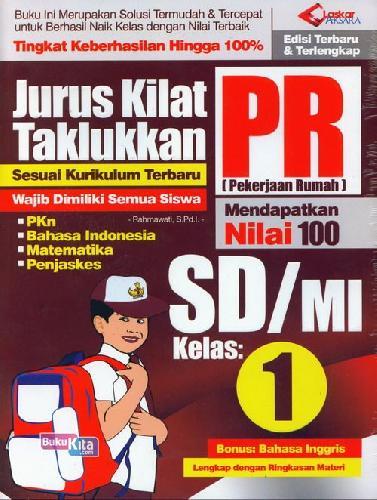Cover Buku SD/Mi Kl 1 Jurus Kilat Taklukkan Pr Edisi Terbaru&Terlengkap