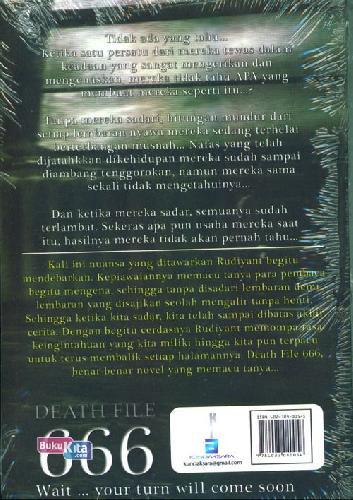 Cover Belakang Buku DEATH FILE 666