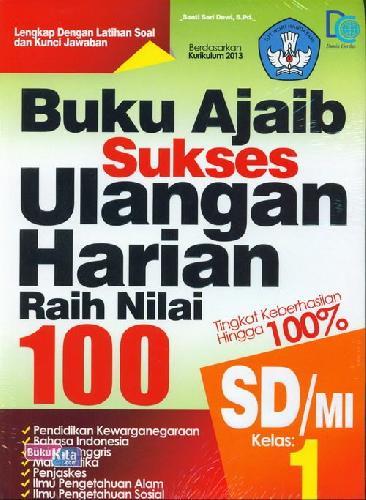 Cover Buku SD/Mi Kl 1 Buku Ajaib Sukses Ulangan Harian
