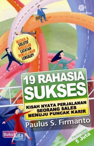 Cover Buku 19 Rahasia Sukses