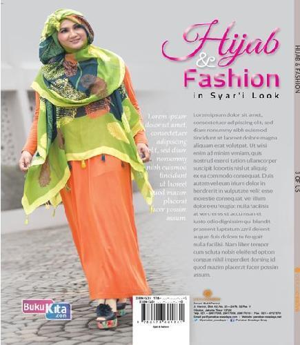 Cover Belakang Buku Hijab & Fashion in Syar'i Look