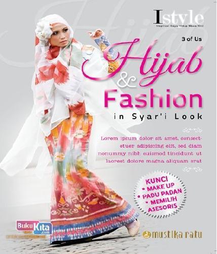 Cover Buku Hijab & Fashion in Syar