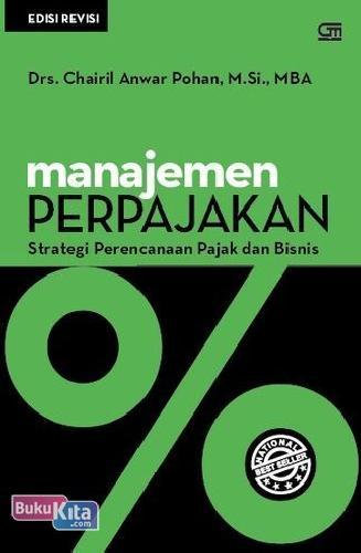 Cover Buku Manajemen Perpajakan : Strategi Perencanaan Pajak dan Bisnis