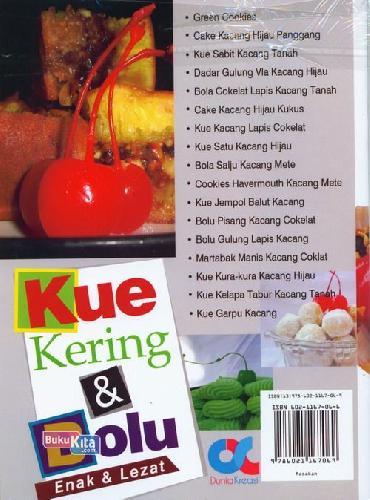 Cover Belakang Buku Kue Kering&Bolu Enak&Lezat