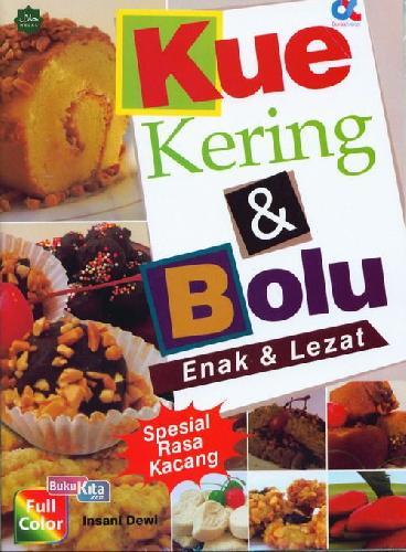 Cover Buku Kue Kering&Bolu Enak&Lezat