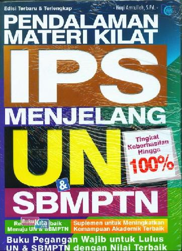 Cover Buku Pendalaman Materi Kilat I Menjelang UN & SBMPTN