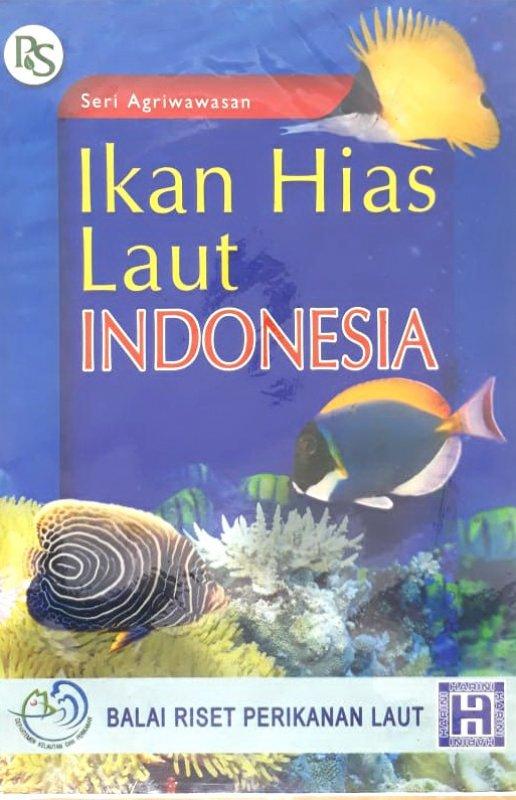 Cover Buku Ikan Hias Laut Indonesia