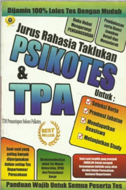 Cover Buku Jurus Rahasia Taklukan Psikotes & TPA