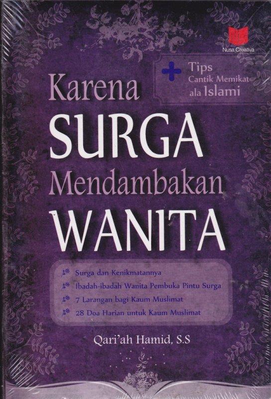 Cover Buku Karena Surga Mendambakan Wanita