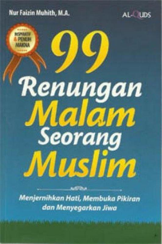 Cover Buku 99 Renungan Malam Seorang Muslim