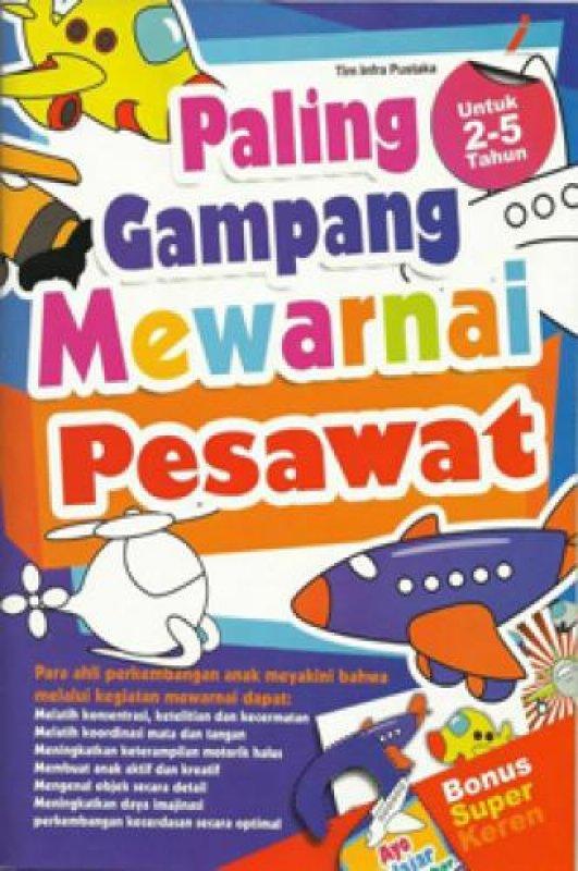 Cover Buku Paling Gampang Mewarnai Pesawat