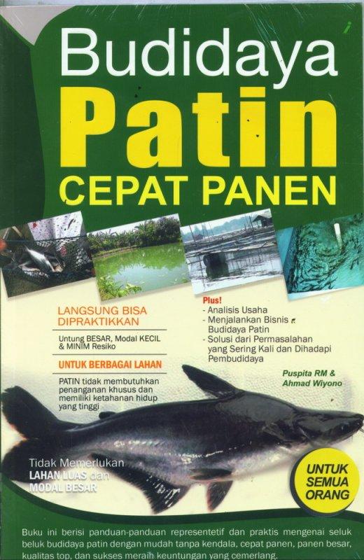 Cover Buku BUDIDAYA PATIN CEPAT PANEN