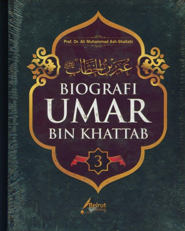 Cover Buku BIOGRAFI UMAR BIN KHATTAB (Hard Cover)