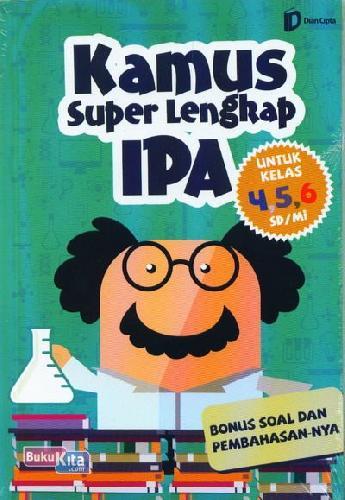 Cover Buku SD/Mi Kl 4-6 Kamus Super Lengkap Ipa