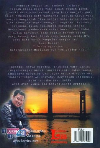 Cover Belakang Buku Skenario Maha Cinta
