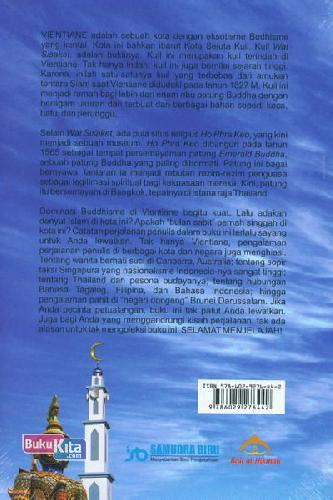 Cover Belakang Buku Bulan Sabit di Kota Vientiane ( Catatan Persinggahan Di Negeri Orang )