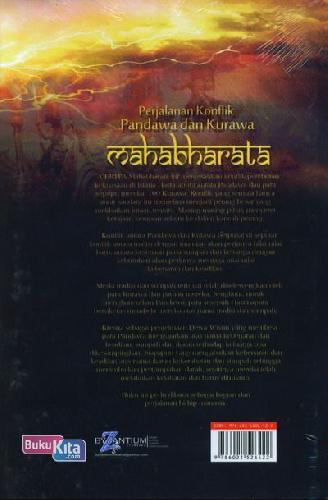 Cover Belakang Buku Perjalanan Konflik Pandawa&Kurawa (Mahabharata)