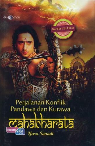 Cover Buku Perjalanan Konflik Pandawa&Kurawa (Mahabharata)
