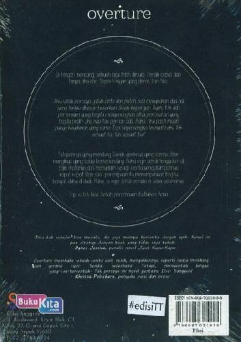 Cover Belakang Buku Overture Sebuah Lagu Kala Mendung