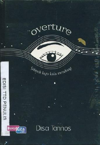 Cover Buku Overture Sebuah Lagu Kala Mendung