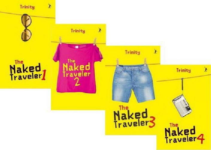 Cover Buku Paket The Naked Traveler Republish 1-4