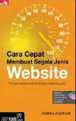 Cara Cepat Membuat Segala Jenis Website + Cd